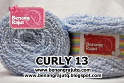 CURLY 13 - BIRU NAVY MUDA