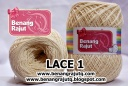 LACE 1 - PUTIH TULANG/NATURAL