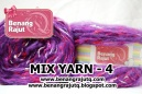 benang rajut limited MIX FANCY YARN - 4