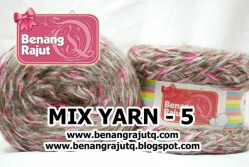 benang rajut limited MIX FANCY YARN - 5