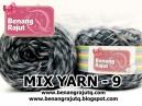 benang rajut limited MIX FANCY YARN - 9