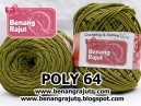POLY 64 - HIJAU OLIVE TUA (new!!!)