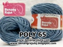 POLY 65 - BIRU METALIK (new!!!)