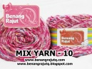 benang rajut limited MIX FANCY YARN - 10