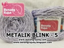 METALIK BLINK - 5 (BIRU KEUNGUAN MUDA)