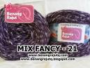 benang rajut limited MIX FANCY YARN - 21