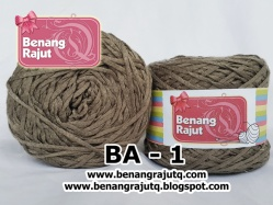 benang rajut wearable ACRYLIC LINEN - BA 1