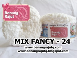 benang rajut limited MIX FANCY YARN - 24
