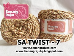 benang rajut limited SA Twist - 007