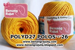 POLY D27 POLOS - 26 (GAMBOGE)