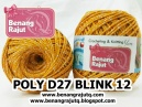 POLY D27 BLINK - 12 (KUNING TELUR + SILVER)