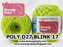 POLY D27 BLINK - 17(KUNING STABILO+ SILVER)