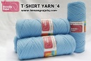 T-SHIRT YARN '4 (BIRU MUDA)