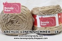 benang rajut wearable ARCYLIC LINEN SHIMMER - 18 (NEW)