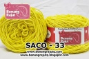 benang rajut smooth SACO - 33 (!! NEW !!)