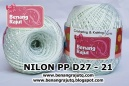 NILON D27 - 21 (PUTIH NATURAL)