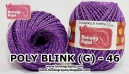 benang rajut medium POLY D27 BLINK (G) - 46 (UNGU MUDA)