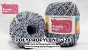 benang rajut medium POLYPROPYLENE - 28