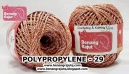 benang rajut medium POLYPROPYLENE - 29