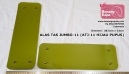 ALAS TAS JUMBO - 11 (LIGHT GREEN) - 38.5cm x 13cm