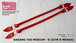 GAGANG TAS MEDIUM - 9 (GTM-9 RED/MERAH)