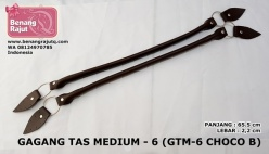 GAGANG TAS MEDIUM - 6 (GTM-6 CHOCO BLACK)