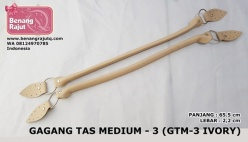 GAGANG TAS MEDIUM - 3 (GTM-3 IVORY)
