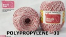 benang rajut medium POLYPROPYLENE - 30