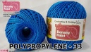 benang rajut medium POLYPROPYLENE - 33 BIRU