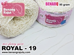 ROYAL 19 - MIX FANCY YARN