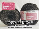 benang rajut medium POLYD27 BLINK - 1