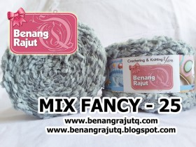 benang rajut limited MIX FANCY YARN - 25