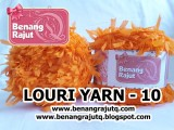 benang rajut limited LOURI YARN - 10 (ORANGE)