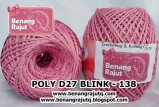 benang rajut medium POLY D27 BLINK - 138