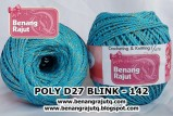 benang rajut medium POLY D27 BLINK - 142