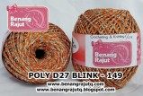 benang rajut medium POLY D27 BLINK - 149
