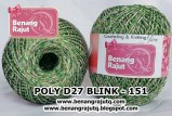 benang rajut medium POLY D27 BLINK - 151