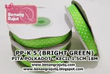 aksesoris Pita PP-K 5 (BRIGHT GREEN)