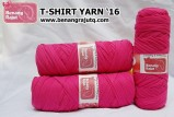 benang rajut - T-SHIRT YARN '16 (HOT PINK)