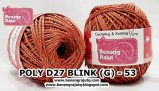 benang rajut medium POLY D27 BLINK (G) - 53
