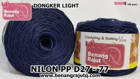 benang rajut - NILON PP D27 - 77 (DONGKER LIGHT)