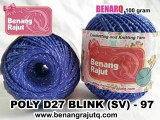 benang rajut medium POLY D27 BLINK (SV) - 97