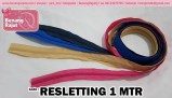 RESLETTING 1 METER - HOT PINK