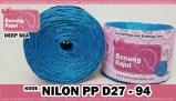benang rajut - NILON PP D27 - 94 (DEEP SEA)