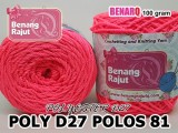 POLY D27 POLOS 81 STABILO PINK