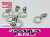 KEPALA RESLETING - BULAN SABIT - 1 PC SILVER