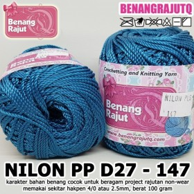 NPPD27147 I NILON PP D27 147 - STEEL BLUE