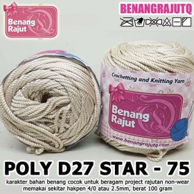 PD27S75 I POLY D27 STAR 75