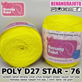 PD27S76 I POLY D27 STAR 76