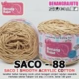 SACO88 I SMOOTH ACRYLIC COTTON-88 COFFE MILK